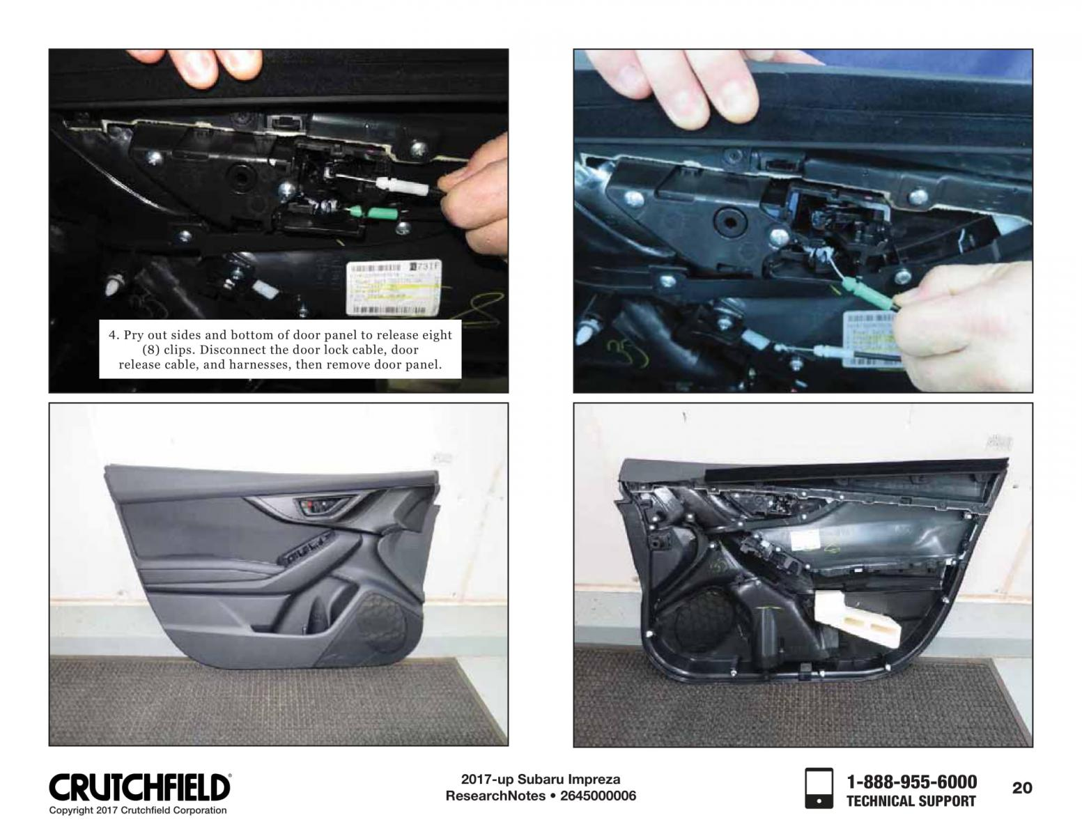 Audio Disassembly Instructions From The Crutch 5th Gen Subaru Crutchfield Wiring Harness Brz Click Image For Larger Version Name Crutchfieldinstructions 2645000006 20 Views