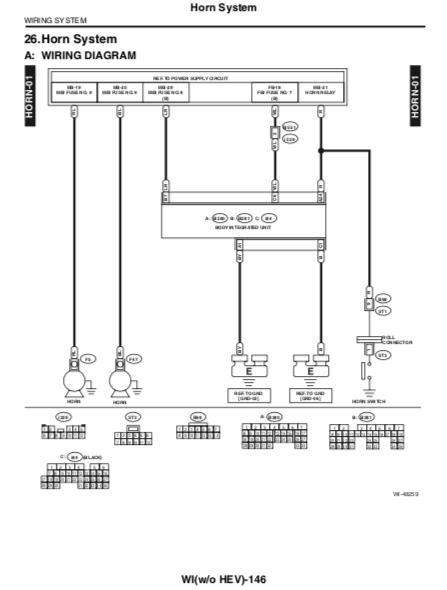 subaru horn wiring diagram stock horn location 5th gen subaru impreza forum  5th gen subaru impreza forum