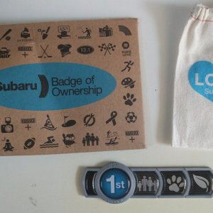 Subaru Badge Of Ownership >> My 1st Badge Of Ownership 5th Gen Subaru Impreza Forum
